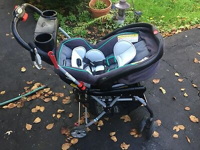 Graco SnugRide Click Connect 35 Infant Car Seat - With Two Bases & Stroller