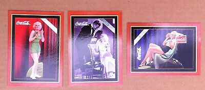3 1995 Coca Cola Collections - Jean Harlow - Clark Gable & Harlow - Blondell