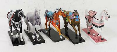 Lot of 5 The Trail of Painted Ponies Model Horses Limited Edition