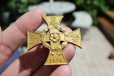 WWI Imperial German Valor Order Medal Lippe War Honor Cross for Heroic Deed