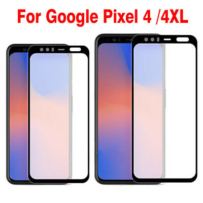 For Google Pixel 3 3A XL 3 XL Full Coverage Tempered Glass Screen Protector 2019