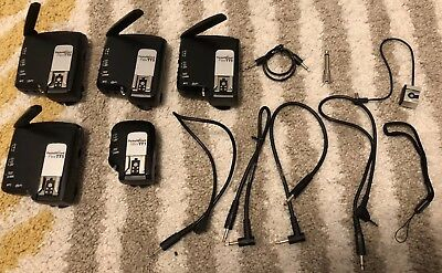 Pocket Wizard Flex 4 x TT5 And 1 x Mini TT1 For canon