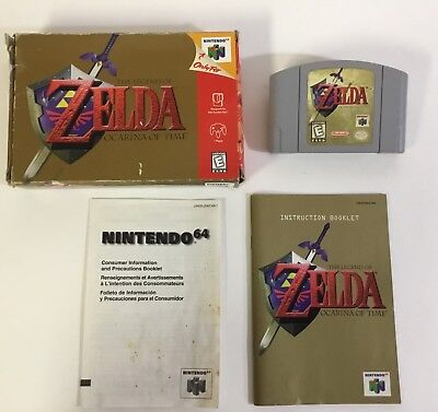 CIB 3DS NINTENDO Selects The Legend Of Zelda Ocarina of Time
