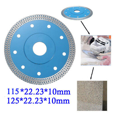 Porcelain Tile Cutting Diamond Blade Disc. Thin Turbo.115/125mm Angle Grinder