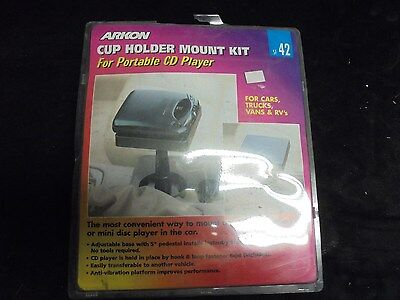 New Arkon Satellite Radio Car Mount Kit (Fits Into Drink Cup Holder)