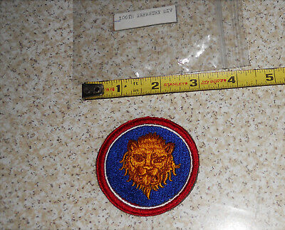 WWII US Military 106th Infantry DIV Vintage Military Patch