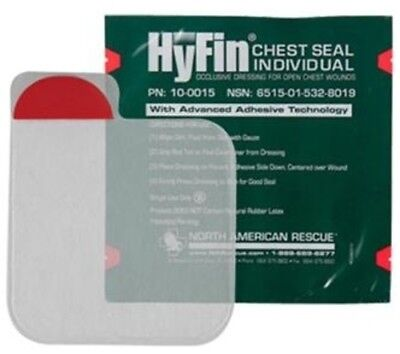 McK HyFin Chest Seal  6 X 6 Inch - Pack of 1