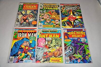 Marvel Bronze Age HIGH GRADE VF/NM Lot Of 30 Star Wars What If Iron Man Thor