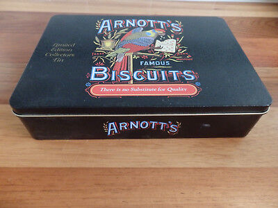 Collectable Arnott's   Biscuit Tin. . Collectors Edition 2011