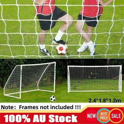 1.8m 2.4m 3.6m 7.2m Large Outdoor Sport Soccer Goal Football Net Replace Netting