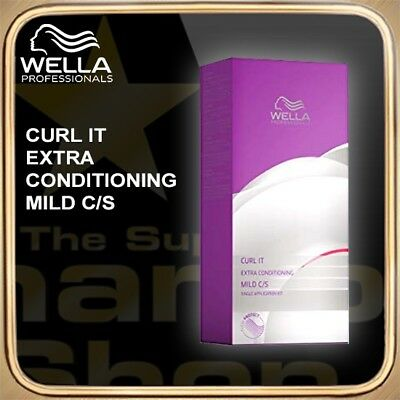 Wella Curl It Extra Conditioning Mild C/S Kit SCHAMBOO Bonus-Packs zur Auswahl