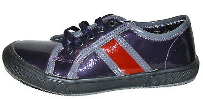 Twig Purple Patent Leather Little Girls Shoes NWB/NWOB