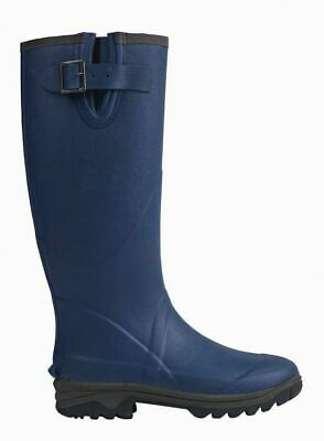 BRIERS Wellington Boots - Navy Blue - Neoprene GARDENING BOOTS