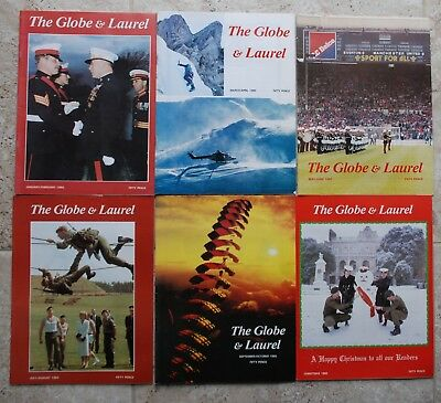 1985 The Globe and Laurel (Royal Marines Journal)complete set of six issues