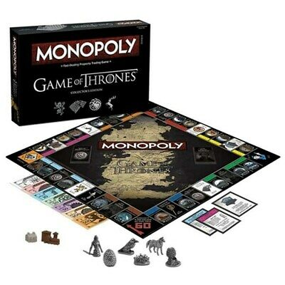 Game of Thrones Monopoly Board Game (Collector's Edition) [Board Game]