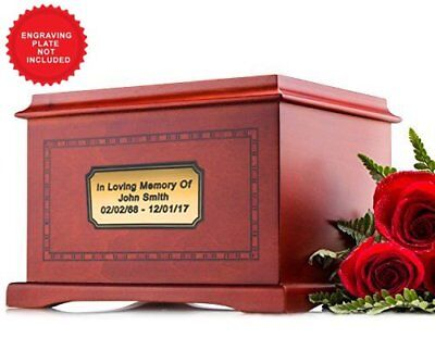 Human Funeral Cremation Urn for Human Ashes Adult Urn Size - Honor Your Beloved