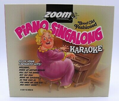 Zoom Karaoke Old Fashioned Piano Singalong - Double CD+G - Mrs Mills Music Hall