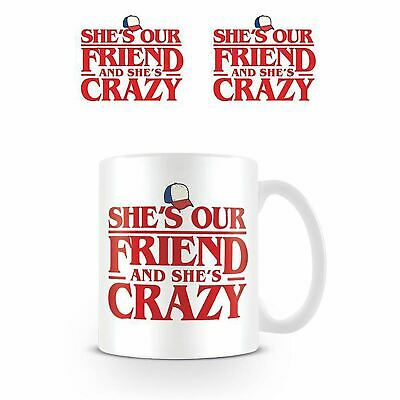 Stranger Things Netflix Shes Our Friend Quote Ceramic Coffee Mug