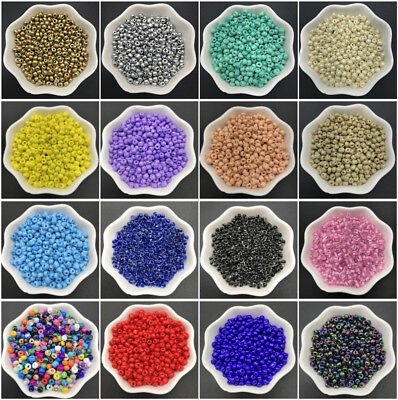 4mm 200pcs Glass beads DIY Charm Czech Glass Seed Beads For Jewelry Making