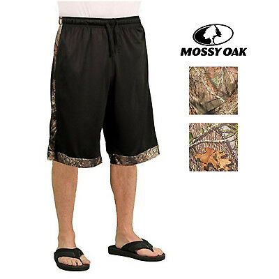 Mossy Oak Mens Performance Athletic Shorts