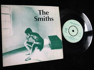 """THE SMITHS - William It Was Really - 1984 Rough Trade - 7"""" Pic Sleeve, EX/EX"""
