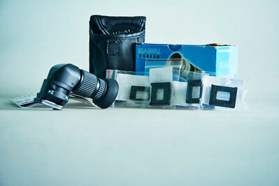 Seagull 1X-2X Right Angle View Finder Viewfinder for Nikon Canon Pentax Lieca