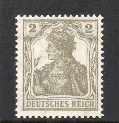 GERMANY REICH / EMPIRE 1918 Germania 2Pf Fine MINT NH SG.97 MNH