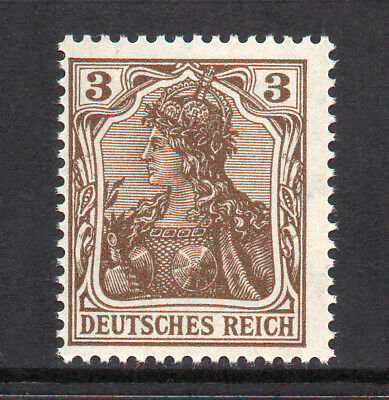 GERMANY REICH / EMPIRE 1915 Germania 3Pf Fine MINT NH SG.83a MNH