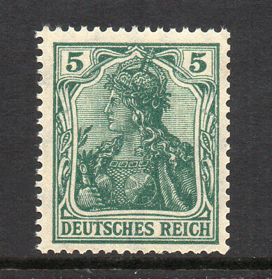 GERMANY REICH / EMPIRE 1915 Germania 5Pf Fine MINT NH SG.84a MNH