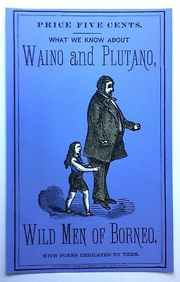 The Wild Men of Borneo - What We Know About Waino and Plutano - Freak POSTER
