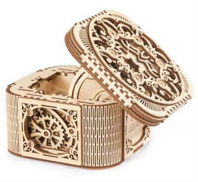 UGears UTG0029 Treasure Box Working Wooden 3D Puzzle