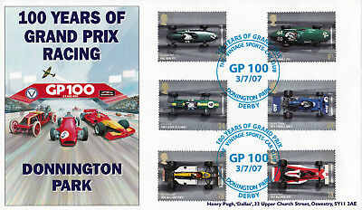 "2007 Grand Prix - Pugh ""Donnington Park"" Vintage Sports Car Club Official"