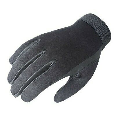Voodoo Tactical Black Neoprene Police Search Gloves Size Large 01-663501094
