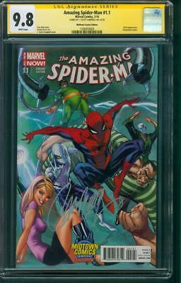 Amazing Spider Man 1.1 Variant CGC 9.8 SS Campbell Sinster Six Gwen Stacy