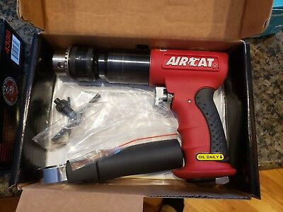 "AirCat 4450 1/2"" DR Reversible Composite Drill"