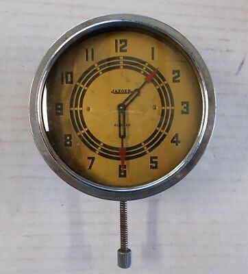 Jaeger Watch Co. NY Magnetric Automobile Dash Car Clock