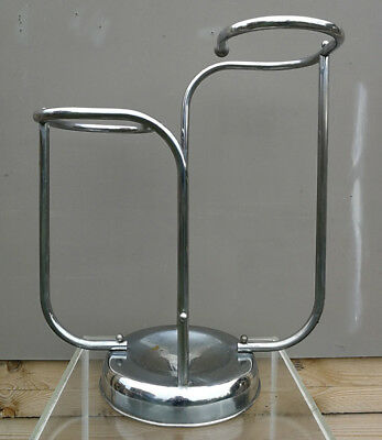 Art Deco Modernist Streamline Bauhaus Machine Age Gispen Chrome Umbrella Stand