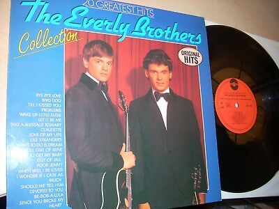 "12"" LP	2 LPs The Everly Brothers"