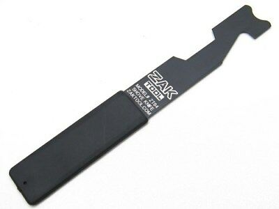 Zak Tool Tactical Black Shove Knife Police Force Entry Breaching Tool ZT64