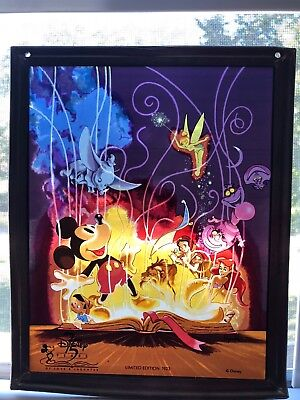 Disney Stained Glass Mickey Mouse Dumbo 75th Anniversary Limited  Glassmasters
