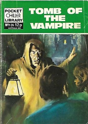 Pocket Chiller Library 135 Tomb Of The Vampire
