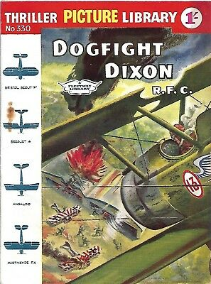 Thriller Picture Library 330 Dogfight Dixon