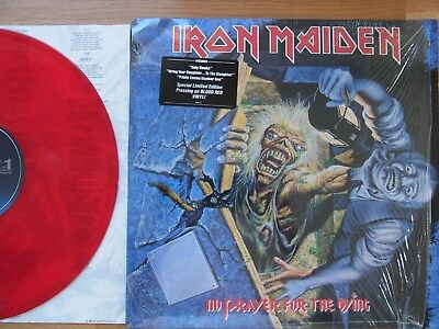 Iron Maiden / no prayer for the dying / red vinyl / 12inch LP / Original 1990