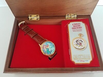 Disney Watch Collector's Club Limited Edition - Little Mermaid watch NEW