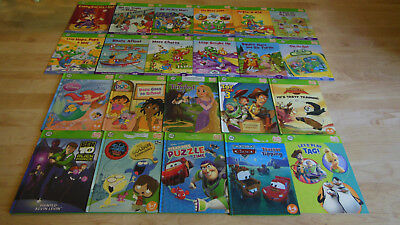 LEAP FROG TAG Book Lot Learn to Read Readers No Pen Disney Phonics Boy Girl 22!!