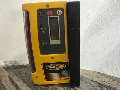 Used - Spectra Precision CR600 Laser Level Receiver W/ Magnetic Mount