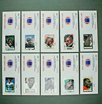NFL Players Assoc Player Card Collectible Telephone Debit Card Lot of 9 Sealed