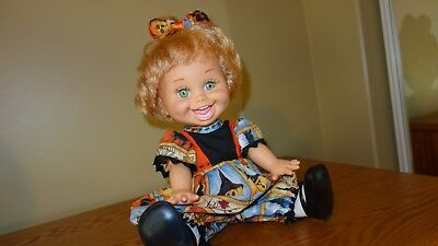 """BOO! Happy Halloween ROMPER set for 13"""" GALOOB baby face/other dolls this size"""
