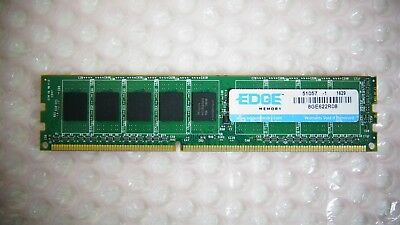 8GB (1x8GB) Edge 8GE622R08 DDR3 1600MHz PC3-12800U Desktop RAM Memory