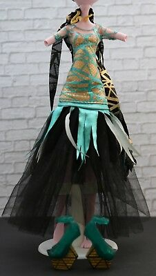 Monster High Cleo De Nile Kleidung Kleid Outfit Fashion Ghouls Rule